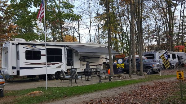 Oil Creek Campground Camper Sites