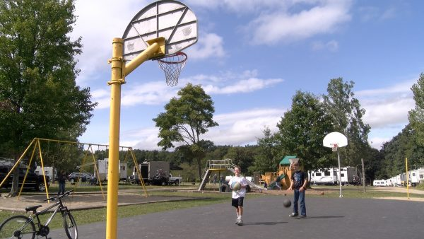 Oil Creek Family Campground Basketball Court