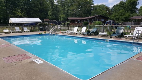 Oil Creek Family Campground Pool