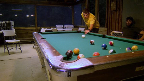 Oil Creek Family Campground Pool Table