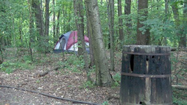Oil Creek Family Campground Tent Site